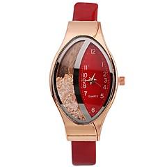 preiswerte Damenuhren-Xu™ Damen Kleideruhr Armbanduhr Quartz Neues Design Armbanduhren für den Alltag Imitation Diamant PU Band Analog Freizeit Modisch Schwarz / Weiß / Rot - Rot Blau Rosa Ein Jahr Batterielebensdauer