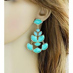 preiswerte Ohrringe-Damen Crossbody Tropfen-Ohrringe - Blume, Glücklich Grundlegend, Modisch Schwarz / Grün Für Alltag / Verabredung