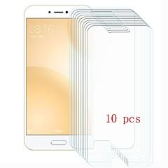 Недорогие Защитные плёнки для экранов Xiaomi-Защитная плёнка для экрана для XIAOMI Xiaomi Mi 5c Закаленное стекло 10 ед. Защитная пленка для экрана Уровень защиты 9H / Защита от царапин
