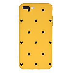 Недорогие Кейсы для iPhone 6-Кейс для Назначение Apple iPhone X / iPhone 8 Plus С узором Кейс на заднюю панель С сердцем / Мультипликация Мягкий ТПУ для iPhone X / iPhone 8 Pluss / iPhone 8
