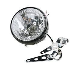 Недорогие Фары для мотоциклов-1 шт. Мотоцикл Лампы 35 W 2250 lm Галогенная лампа Мотоцикл Назначение Мотоциклы Дженерал Моторс Все года