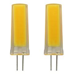 preiswerte LED-Birnen-2pcs 3 W 150-200 lm G4 LED Doppel-Pin Leuchten 1 LED-Perlen COB Dekorativ Warmes Weiß / Kühles Weiß 220-240 V