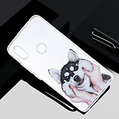Недорогие Чехлы и кейсы для Xiaomi-Кейс для Назначение Xiaomi Redmi S2 / Mi 5X Прозрачный / Полупрозрачный / С узором Кейс на заднюю панель С собакой Мягкий ТПУ для Redmi Note 5A / Xiaomi Redmi Note 4X / Xiaomi Redmi Note 4