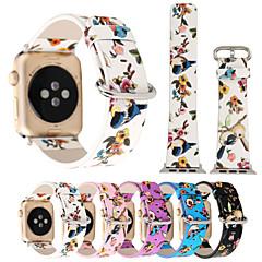 levne Apple Watch příslušenství-Watch kapela pro Apple Watch Series 4/3/2/1 Apple Kožená smyčka Kůže / PU Poutko na zápěstí