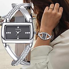 cheap Elegant Watches-Women's Bracelet Watch Wrist Watch Quartz Black / White Chronograph Creative New Design Analog Ladies Bangle Elegant - White Black One Year Battery Life / SSUO 377