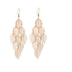 preiswerte Ohrringe-Damen Lang Tropfen-Ohrringe - Kreativ Gold / Silber Für Party / Geburtstag