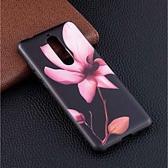 Недорогие Чехлы и кейсы для Nokia-Кейс для Назначение Nokia Nokia 5.1 / Nokia 3.1 С узором Кейс на заднюю панель Цветы Мягкий ТПУ для Nokia 8 / Nokia 6 / Nokia 5