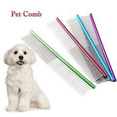 お買い得  犬用品&グルーミング用品-犬用 / 猫用 グルーミングキット コーム 携帯用 レッド / グリーン / ブルー