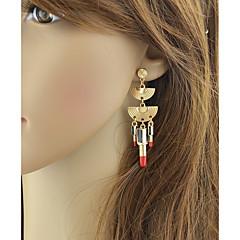 preiswerte Ohrringe-Damen Crossbody Tropfen-Ohrringe - Glücklich Grundlegend, Modisch Gold Für Alltag / Verabredung