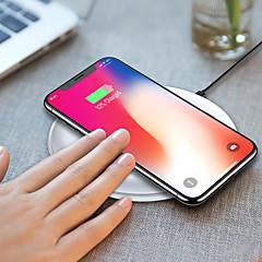 abordables Gadgets para Samsung-promocional hq-s1 10w rápido qi móvil / cargador de teléfono móvil / puerto de alimentación / pad / estación / cargador para iphone / samsung / nokia / motorola / sony / huawei / xiaomi