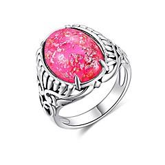 preiswerte Ringe-Damen Retro / Stapel Ring - Einfach, Chinoiserie 6 / 7 / 8 Purpur / Blau / Rosa Für Geschenk / Karnival