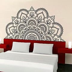 ราคาถูก Wall Art-สติ๊กเกอร์ประดับผนัง - 3D สติ๊กเกอร์แปะกำแพง ชุดรัดรูป / ลวดลายดอกไม้ ห้องนั่งเล่น / ห้องนอน