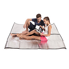 abordables Camas de Camping-BSwolf Manta de picnic Al aire libre Camping Ligero, Resistente a la lluvia, Listo para vestir PVC (PVJ) / Papel Aluminio Pesca, Playa, Camping / Senderismo / Cuevas para 5 a 7 Personas