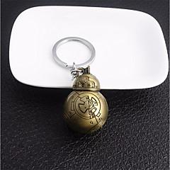 preiswerte Schlüsselanhänger-Kreuz Kugel Schlüsselanhänger Gold / Silber Geometrische Form Aleación Freizeit, Modisch Für Alltag / Strasse