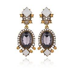 preiswerte Ohrringe-Damen Kristall Retro Tropfen-Ohrringe - Tropfen Modisch, Elegant Gold Für Party Büro & Karriere