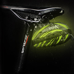abordables Bolsas para Bicicleta-Bolsa para Guardabarro Reflexivo, Resistente a la lluvia, Cremallera impermeable Bolsa para Bicicleta Cuero de PU / EVA Bolsa para Bicicleta Bolsa de Ciclismo Ciclismo Bicicleta