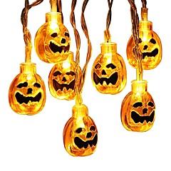 preiswerte LED Lichtstreifen-BRELONG® 1.5 Leuchtgirlanden 10 LEDs LED Diode Warmes Weiß / Weiß Kreativ / Neues Design / Dekorativ AA-Batterien angetrieben 1pc / IP65