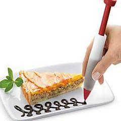 お買い得  ベイキング用品&ガジェット-ベークツール シリカゲル 新デザイン 誕生日 新年 ケーキ Cupcake チョコレート 円形 デザートデコレータ デザートツール 1個