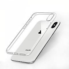 Недорогие Кейсы для iPhone X-CARVE Кейс для Назначение Apple iPhone XR / iPhone XS Max Защита от удара / Прозрачный Кейс на заднюю панель Однотонный Мягкий ТПУ для iPhone XS / iPhone XR / iPhone XS Max