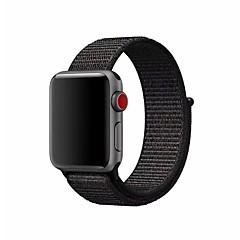 お買い得  腕時計ベルト-ナイロン 時計バンド ストラップ のために Apple Watch Series 3 / 2 / 1 ブラック / シルバー / オレンジ 23センチメートル / 9インチ 2.1cm / 0.83 Inch