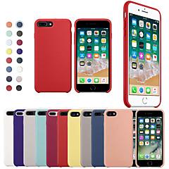 Недорогие Кейсы для iPhone-Кейс для Назначение Apple iPhone X / iPhone 8 Защита от удара Кейс на заднюю панель Однотонный Мягкий Силикон для iPhone XS / iPhone XR / iPhone XS Max