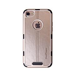 Недорогие Кейсы для iPhone-Кейс для Назначение Apple iPhone 6 Plus Защита от удара Кейс на заднюю панель Однотонный / Полосы / волосы Твердый ТПУ для iPhone 6s Plus / iPhone 6 Plus