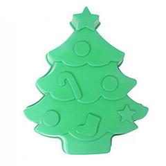 お買い得  ベイキング用品&ガジェット-ベークツール シリカゲル クリスマス ケーキ / チョコレート ケーキ型 1個