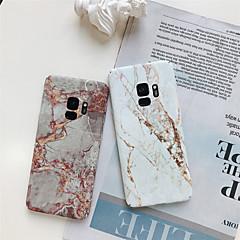 billige -Etui Til Samsung Galaxy S9 Plus / S8 Plus Mønster Bagcover Marmor Hårdt PC for S9 / S9 Plus / S8 Plus
