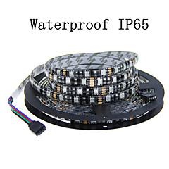 お買い得  LED ストリングライト-5m フレキシブルLEDライトストリップ 600 LED SMD5050 温白色 / クールホワイト / レッド カット可能 / 装飾用 / 接続可 12 V 1個