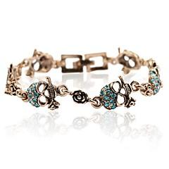 preiswerte Armbänder-Damen Vintage Stil Vintage Armbänder - Totenkopf Retro, Modisch Armbänder Rot / Blau Für Halloween Bar