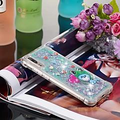 お買い得  Huawei Pシリーズケース/ カバー-ケース 用途 Huawei P20 / P20 Pro 耐衝撃 / リキッド / パターン バックカバー 動物 ソフト TPU のために Huawei P20 / Huawei P20 Pro / Huawei P20 lite