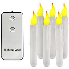 preiswerte Ausgefallene LED-Beleuchtung-brelong fernbedienung led kerze nachtlicht 6 stück