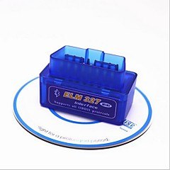 cheap OBD-16pin Male to one Female OBD-II ELM327 App For android ISO15765-4(CAN BUS) / SAE J1850 PWM / SAE J1850 VPW Vehicle Diagnostic Scanners