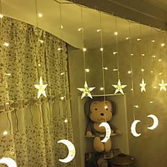 preiswerte LED Lichtstreifen-2,5 m Leuchtgirlanden 138 LEDs Warmes Weiß Dekorativ 220-240 V 1 set