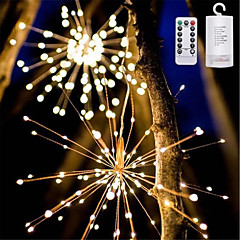 preiswerte Ausgefallene LED-Beleuchtung-YWXLIGHT® 1pc LED-Nachtlicht Warmes Weiß / RGB + Warm AA-Batterien angetrieben Wasserfest / Ferngesteuert / Abblendbar 5 V