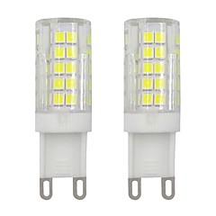 preiswerte LED-Birnen-2pcs 3 W 245 lm G9 LED Doppel-Pin Leuchten T 64 LED-Perlen SMD 2835 Dekorativ Warmes Weiß / Kühles Weiß 220-240 V