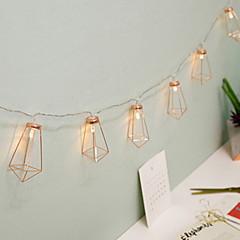 お買い得  LED ストリングライト-1.5m ストリングライト 10 LED 温白色 装飾用 単3乾電池 1セット