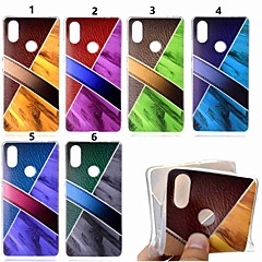 Недорогие Чехлы и кейсы для Xiaomi-Кейс для Назначение Xiaomi Xiaomi Pocophone F1 / Mi 8 С узором Кейс на заднюю панель Мрамор Мягкий ТПУ для Xiaomi Redmi Note 5 Pro / Xiaomi Pocophone F1 / Xiaomi Mi 8