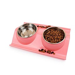 cheap Dog Supplies & Grooming-500 L Dogs / Cats Bowls & Water Bottles Pet Bowls & Feeding Casual / Daily Green / Blue / Pink