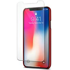 Недорогие Защитные пленки для iPhone X-Защитная плёнка для экрана для Apple iPhone XS Закаленное стекло 1 ед. Защитная пленка для экрана Уровень защиты 9H / 2.5D закругленные углы / Взрывозащищенный