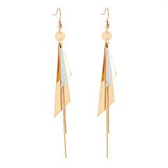 preiswerte Ohrringe-Damen Lang Tropfen-Ohrringe - Europäisch, Modisch, Elegant Gold Für Normal Alltag