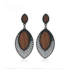 preiswerte Ohrringe-Damen Tropfen-Ohrringe - Stilvoll, Europäisch Schwarz Für Klub