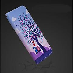Недорогие Кейсы для iPhone X-Кейс для Назначение Apple iPhone XR / iPhone XS Max Кошелек / Бумажник для карт / со стендом Чехол Сова Твердый Кожа PU для iPhone XS / iPhone XR / iPhone XS Max