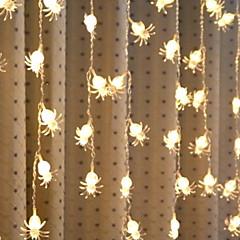 preiswerte LED Lichtstreifen-4m Leuchtgirlanden 96 LEDs Warmes Weiß Dekorativ 220-240 V 1 set