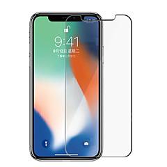 Недорогие Защитные пленки для iPhone X-Защитная плёнка для экрана для Apple iPhone XS / iPhone X Закаленное стекло 1 ед. Защитная пленка для экрана HD / Уровень защиты 9H / Фильтр синего света
