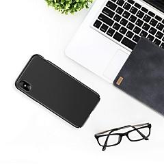 Недорогие Кейсы для iPhone-Кейс для Назначение Apple iPhone XR / iPhone XS Max Ультратонкий Кейс на заднюю панель Однотонный Твердый ПК для iPhone XS / iPhone XR / iPhone XS Max