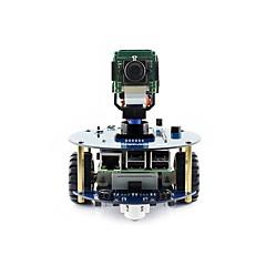 お買い得  Arduino 用アクセサリー-波のアルファボット2-pi acceパックアルファボット2ラズベリーパイ3モデルb用ロボット構築キットb(no pi)