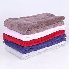 cheap Dog Supplies & Grooming-Keep Warm / Soft / Folding Dog Clothes Bed / Towel Solid Colored Random Color Dogs / Furry Small Pets