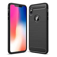 abordables Fundas para iPhone-Funda Para Apple iPhone XR / iPhone XS Max Antigolpes Funda Trasera Un Color Suave TPU para iPhone XS / iPhone XR / iPhone XS Max