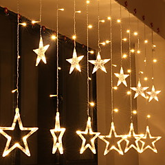 お買い得  LED ストリングライト-2m ストリングライト 138 LED 温白色 装飾用 220-240 V 1セット